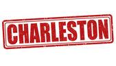 Charleston-Stempel — Stockvektor