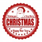 Christmas stamp — Stock Vector #60245053