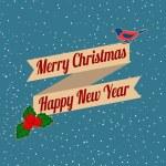 クリスマスの背景 — ストックベクタ #60334771
