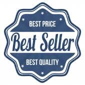 Nejlepší prodejce razítko — Stock vektor