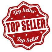 Top seller stamp — Stock Vector