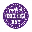 Three Kings Day stamp — Stock Vector #61412351