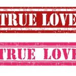 True love stamps — Stock Vector #62303121