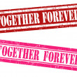 Together forever stamps — Stock Vector #62303625