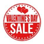 Valentines Day sale stamp — Stock Vector #62476507