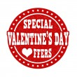 Special Valentines Day offers stamp — Stock Vector #62477245