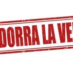 Andorra la Vela stamp — Stock Vector #64253051
