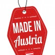 Made in Austria label or price tag  — Stock Vector #64253217