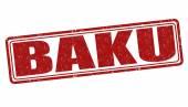Baku stamp — Stock Vector