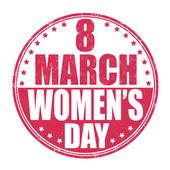 Women's day stamp — Wektor stockowy