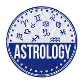 Astrology stamp — Stock Vector