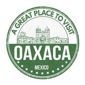 Oaxaca stamp — Stock Vector