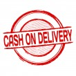 Cash on delivery label, sticker or stamp — Stock Vector © roxanabalint #68629709