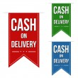 Постер, плакат: Cash on delivery banners