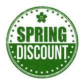 Springtime discount stamp — Stockvektor