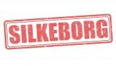 Silkeborg stamp — Stock Vector
