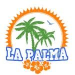 La Palma stamp — Stock Vector #73702335