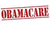 Obamacare stamp — Stock Vector