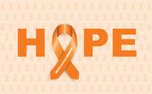 Multiple sclerosis ribbon — Stockvector