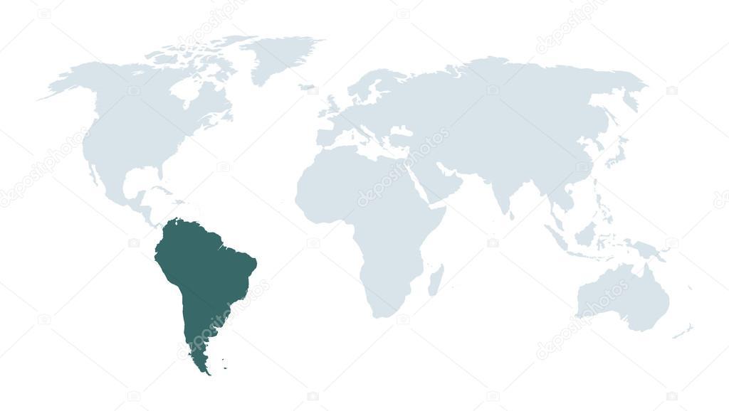 世界地图背景 — 图库矢量图片#63485497