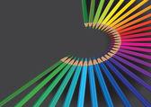 Pencil rainbow color — Vetorial Stock