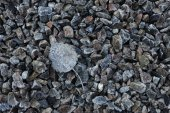 Crushed stone, road-metal — Stock Photo