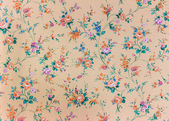 Old retro floral wallpaper, background, backgroun — Stock Photo