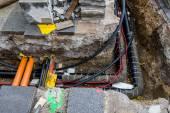Budowa infrastruktury — Zdjęcie stockowe