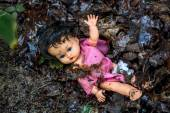 Symbolfoto abuse of children — Foto de Stock