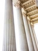 Columnas en el parlamento de viena — Foto de Stock