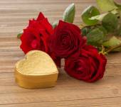 Roses for valentines day and mothers day — Stock Photo