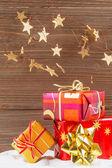 Dárky k vánocům — Stock fotografie