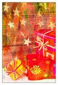 Cadeaus voor kerst — Stockfoto