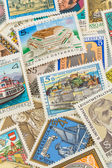 Austrian stamps — Stock Photo