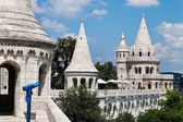 Hungary, budapest, fishermans bastion. — Stock Photo
