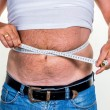 Man with overweight — Stock Photo #59183937