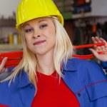Mechanic in workshop — Stock Photo #59184053