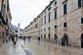 Croatia, dubrovnik stradun — Stockfoto
