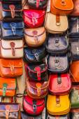 Handbags in a store — Stock Photo