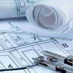 A house plan — Stock Photo #59428165