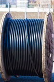 Cable a power line — Stock Photo