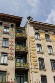 Austria, vienna, wien row houses — Stock Photo
