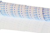 Arithmetic strip of calculator — Stock Photo