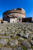 Italy, rome, castel sant angelo — Stock Photo
