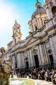 Italy, rome, piazza navona — Foto Stock