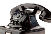 Antique, vieux téléphone rétro. — Photo