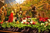 Jesus in the manger — Stock Photo