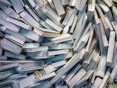 混乱の中多くの本 — ストック写真