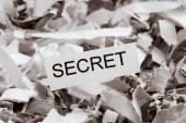 Scraps secret — Stock Photo