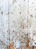 White wooden wall, background — Stock Photo